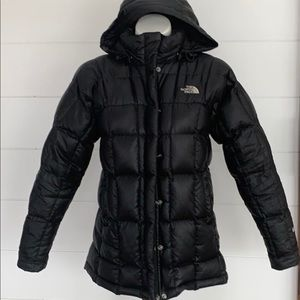 The North Face Black down Jacket size XS